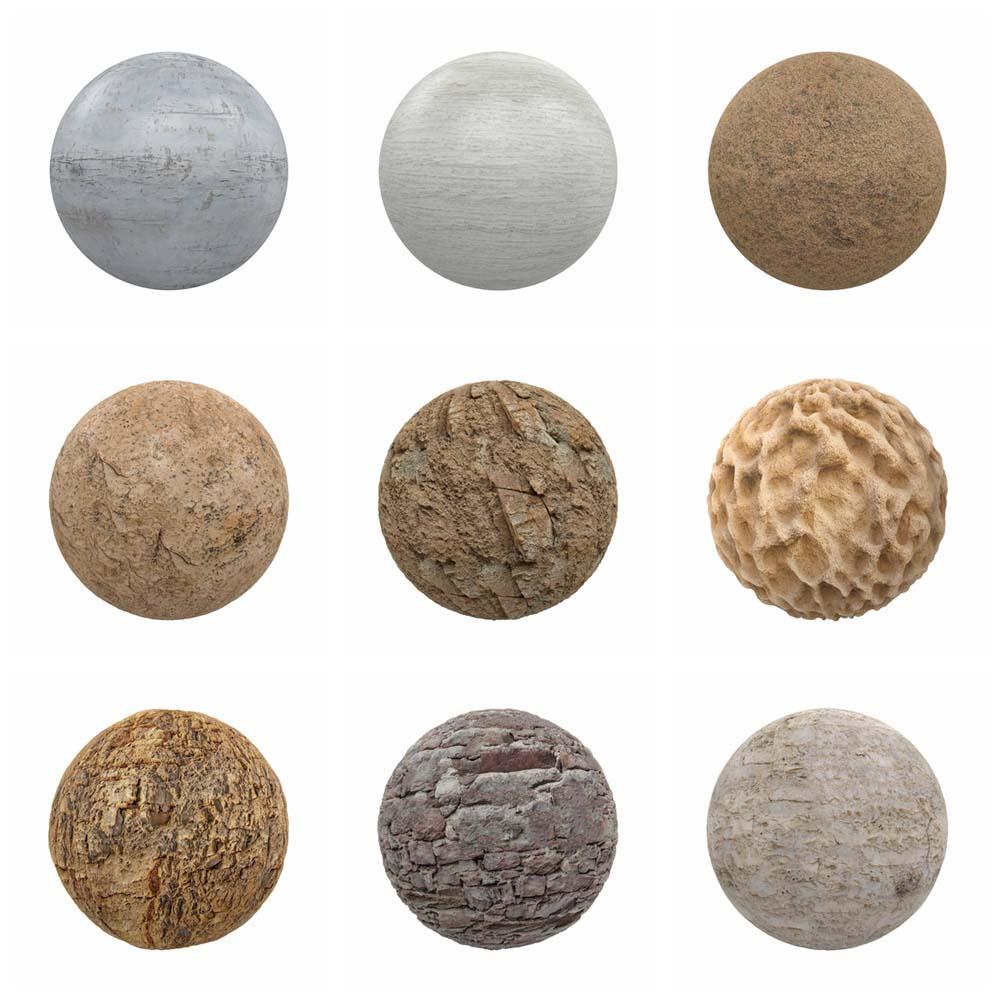 石头材质无缝贴图_100款4K石头大理石墙壁混凝土PBR无缝材质纹理贴图_免费下载_百度 ...